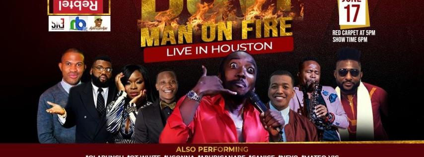 Bovi Man on Fire Live in Houston