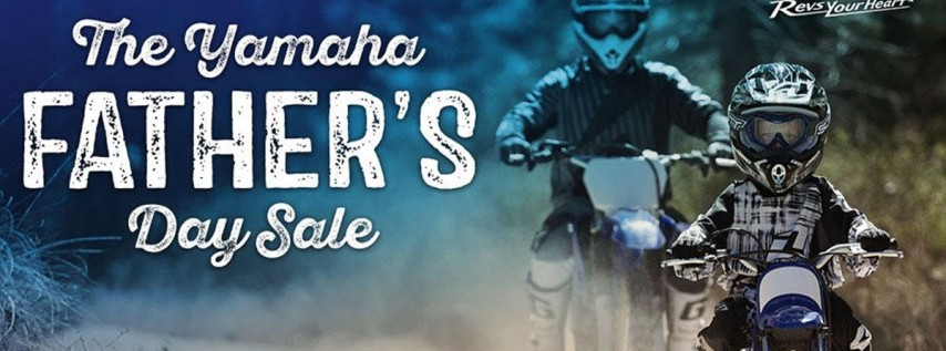 Yamaha Father's Day Event & Sale