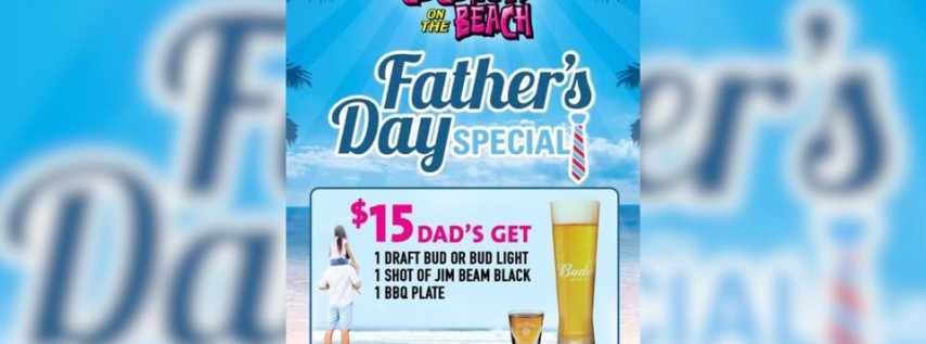 Fathers Day Beer, Bourbon & BBQ At Coconuts On The Beach
