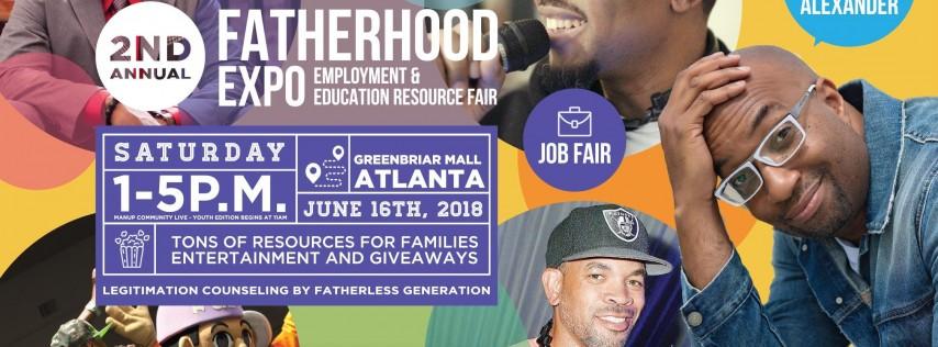 2018 Atlanta Fatherhood Expo Vendors