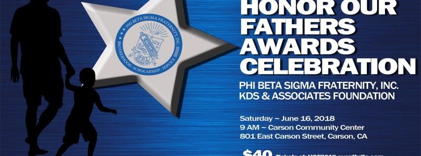 8th Honor Our Fathers Awards Scholarship Breakfast