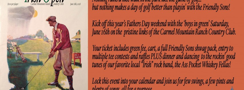 2018 Irish O'pen Golf Tournament