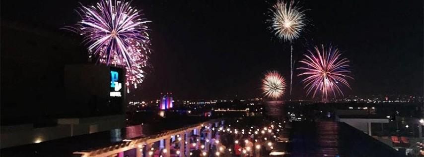 Porto Vista Hotel's 4th of July Rooftop Celebration
