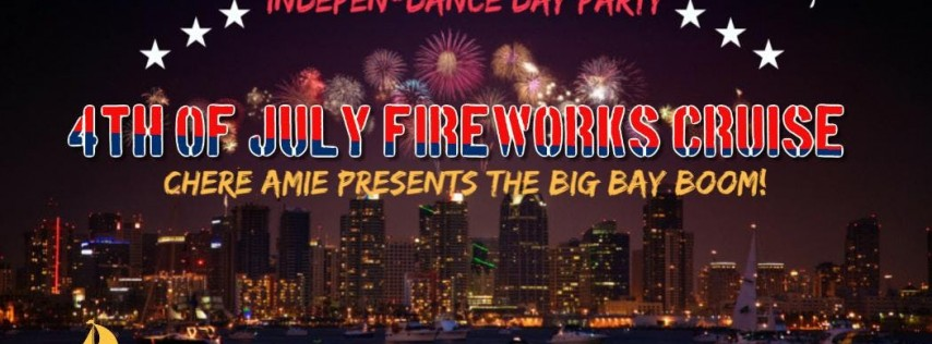4th of July Fireworks Cruise   Independence Day Yacht Party