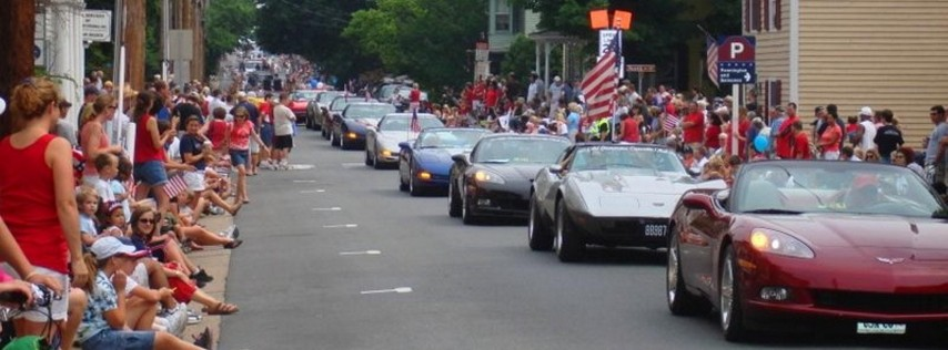 2018: July 4 Parade of Corvettes