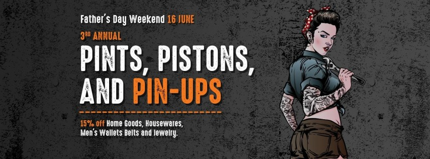 Pints, Pistons, and Pinups!
