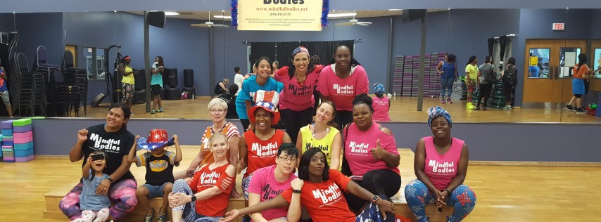 Mindful Bodies Wed 7/4/18 Dance Fitness Party (4th of July)