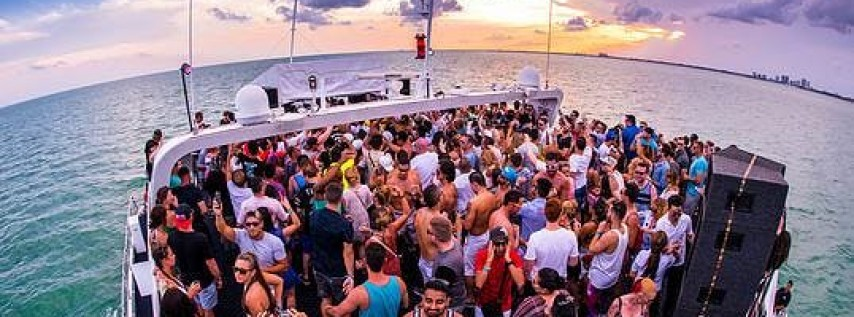 Miami Boat Party With Open bar & Watersports -Tour