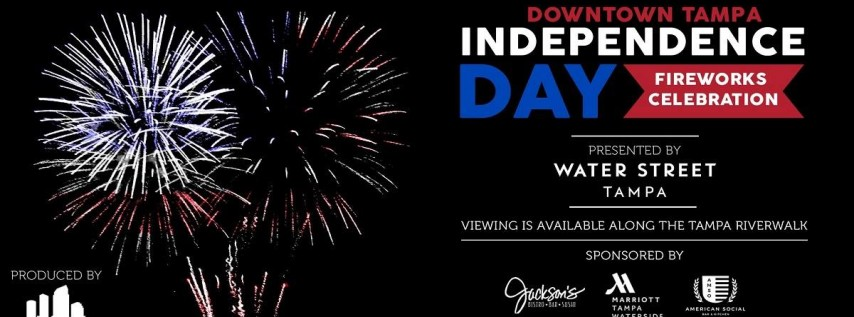 Downtown Tampa Independence Day Fireworks Celebration
