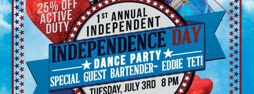 Independent Independence Day Bash at O'Brien's Irish Pub Brandon