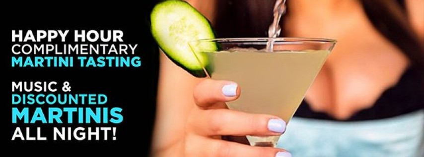 Toast to National Martini Day 2018 : Blue Martini Lounge