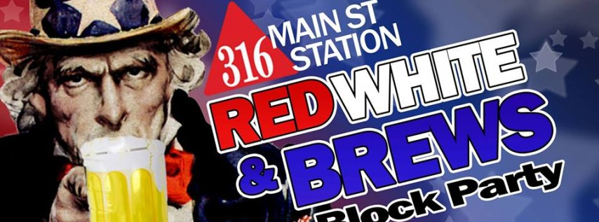 Red White & Brews Block Party