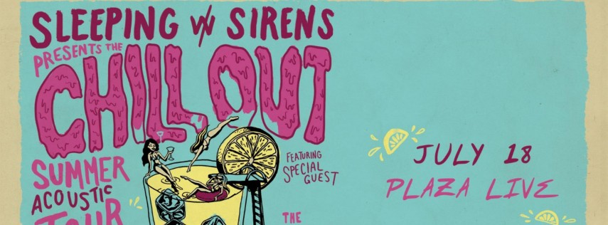 Sleeping With Sirens: Chill Out Summer Acoustic Tour / Orlando