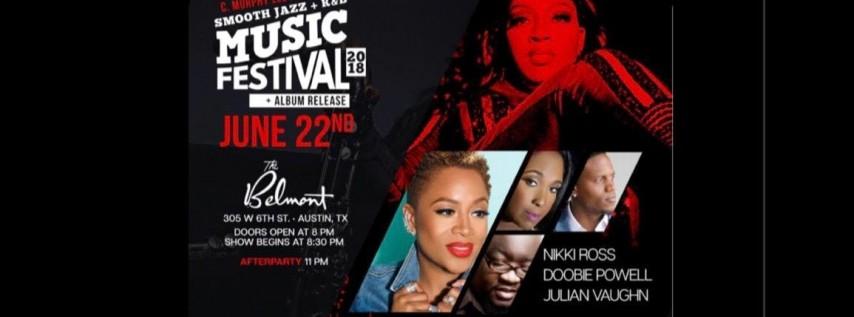 CMurphy Sax & Friends Smooth Jazz + R & B Festival