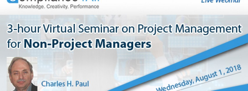 Project Management for Non-Project Managers 2018