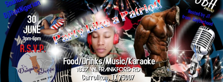 Lit Major Ent. presents Party Like a Patriot