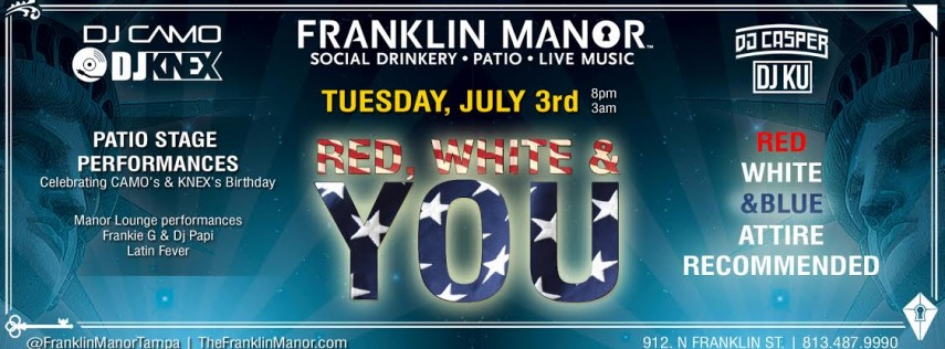 Red, White & You at Franklin Manor