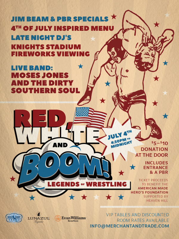 Merchant & Trade's Red, White and Boom!