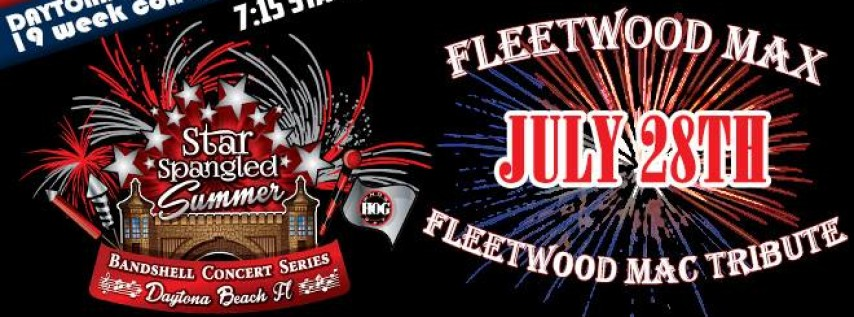 2018 Star Spangled Bandshell Concert Series feat. Fleetwood Max