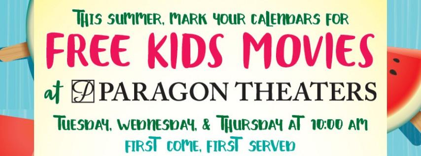 FREE Kids Movies at Paragon Theaters: Kung Fu Panda 3