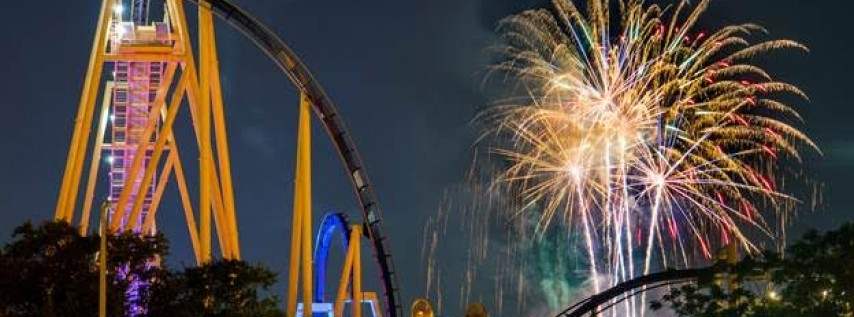 Busch Gardens Lights Up the Sky 4th of July