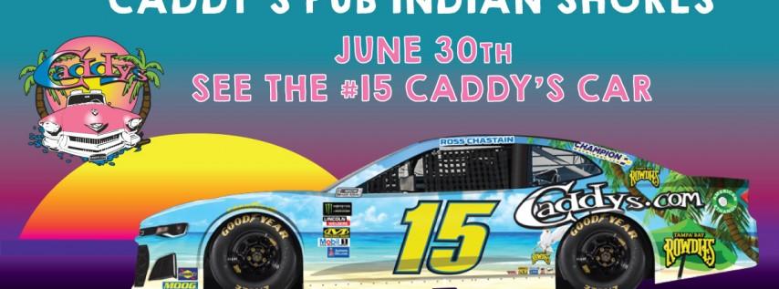 Caddy's Daytona Race Car Pit Stop