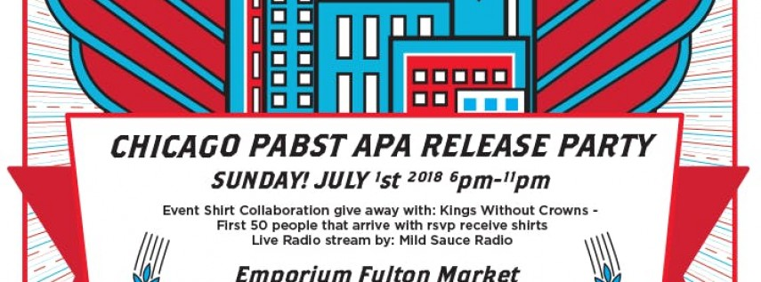 Chicago Pabst APA Release Party