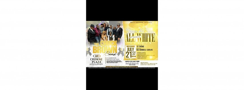 4 BALD BROTHERS 4TH ANNUAL ALL WHITE PARTY FEAT. CHUCK BROWN BAND