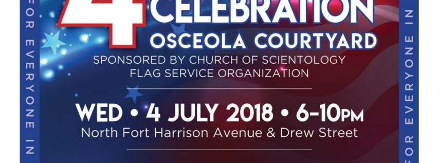 4th of July Celebration at the Osceola Courtyard