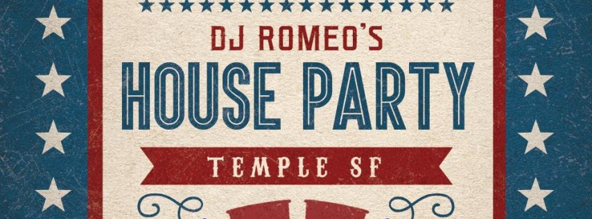 PRE 4TH OF JULY PARTY! TUESDAY @ TEMPLE SF
