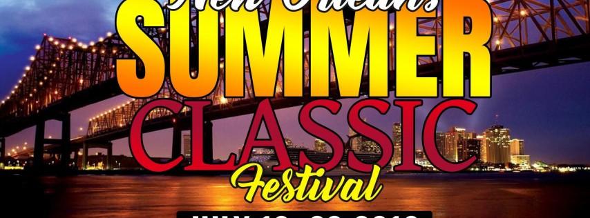 The Official #NOLASummerClassic Festival