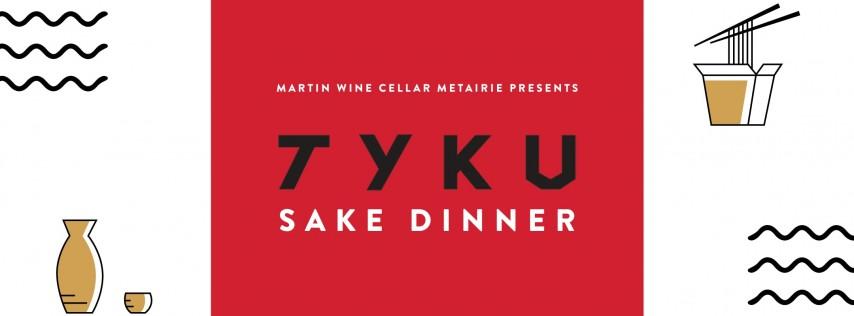 TYKU Sake Dinner