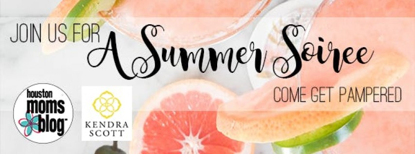 A Summer Soiree with Houston Moms Blog & Kendra Scott