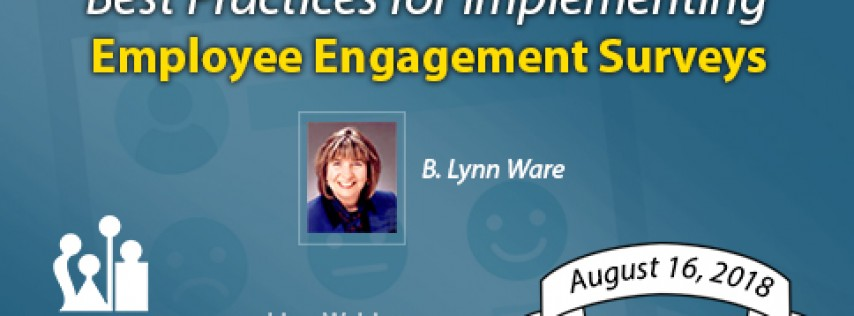 Online course on Best Practices for Implementing Employee Engagement Surveys