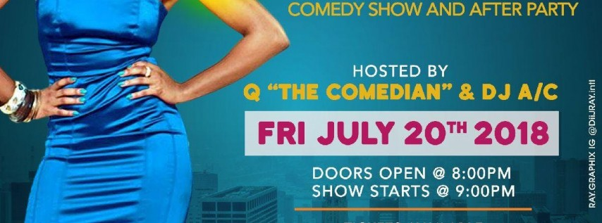 Ladies Night Out ~ Comedy Show & After Party