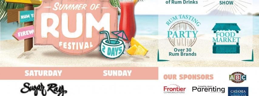 2018 Summer of Rum Festival Ft. Sugar Ray