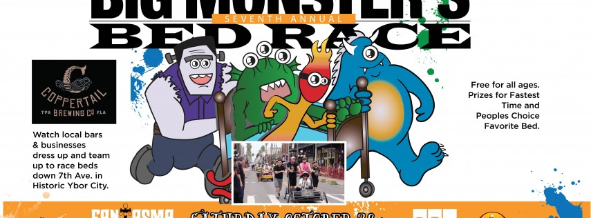 7th Annual FantasmaFest | Big Monster's Bed Race
