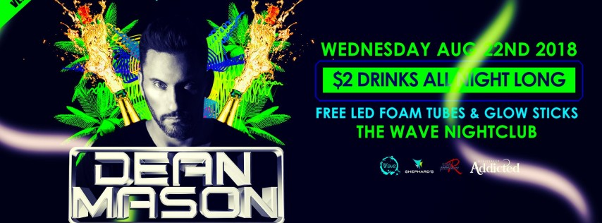 Dean Mason's Officially Addicted Birthday Bash at Neon beach