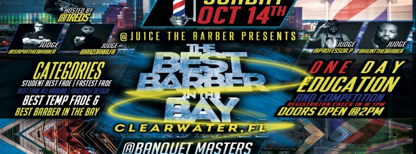 Hall of Fades Presents The Beach Barber Battle