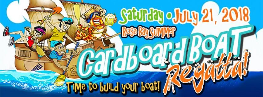 8th Annual Cardboard Boat Regatta