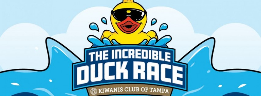 2018 Annual Kiwanis Tampa Incredible Duck Race