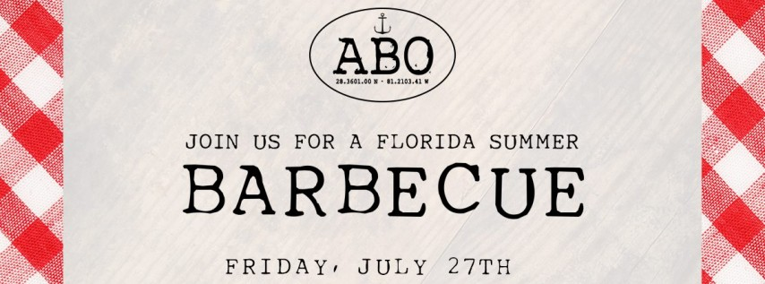 Summer Barbecue Featuring Crooked Can Brewing Co.