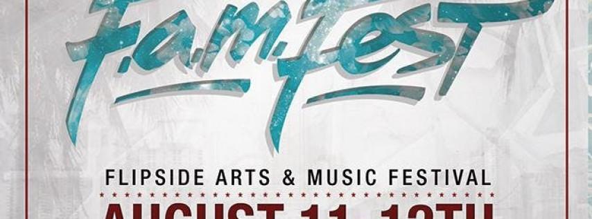 FAM FEST (FLIPSIDE ARTS AND MUSIC FESTIVAL) 2018