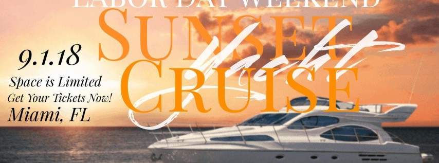 Yacht Party Labor Day Weekend Edition!!