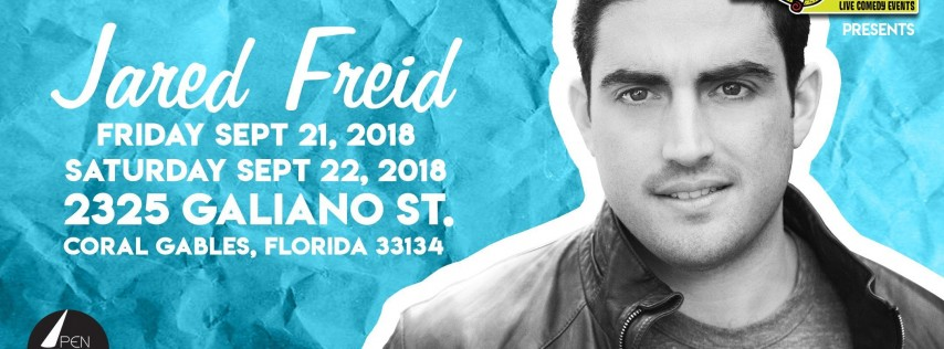 Jared Fried LIVE (Special Event)