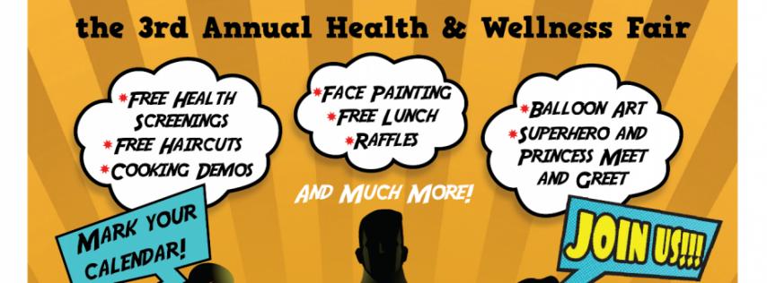 Self-Reliance, Inc. presents Super Hero Healthy, annual health and wellness fair