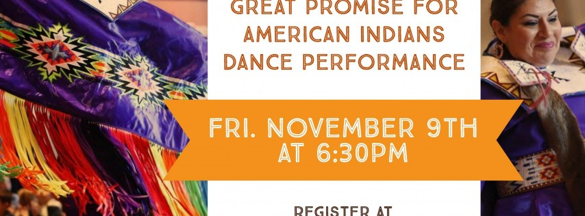 Great Promise for American Indians Dance Performance