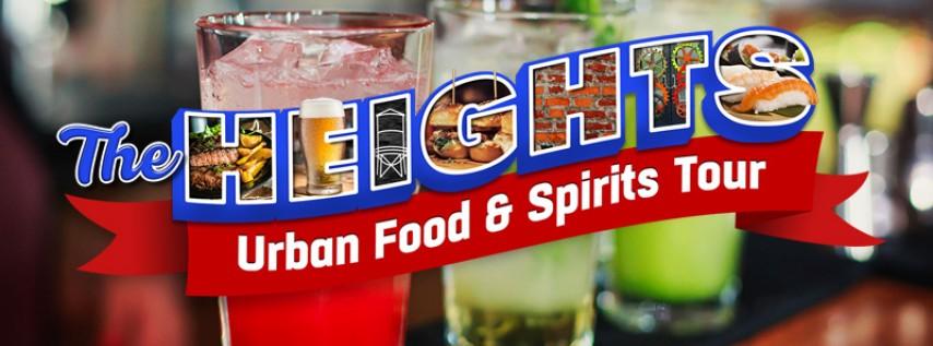 Heights Urban Food & Spirits Tour