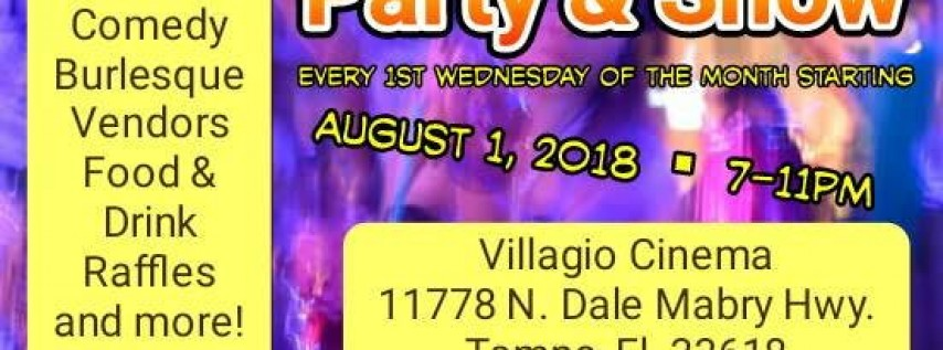 New Connections Networking Party & Show August 2018