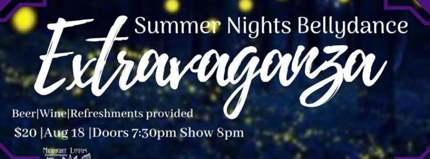 Summer Nights Bellydance Extravaganza